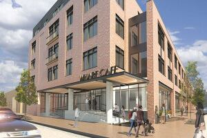 Union Wharf in Baltimore, Maryland by Hord Coplan Macht.