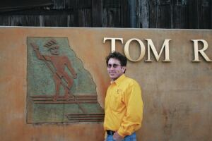 Tom Ralston gets the word out on decorative concrete.