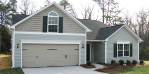 The builder's low price points attract young buyers. This home near Greensboro, N.C., starts at $109,000.