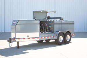 Redesigned Service and Lube Trailer