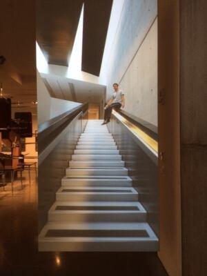 Performance (30) Stairs by Sebastian Stumpf