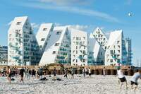 Iceberg Beach: Danish Development Melds Mountains and Sea