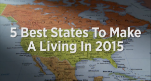 Image for best states to make a living in 2015, Forbes