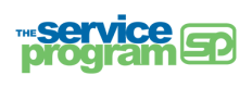 The Service Program Logo
