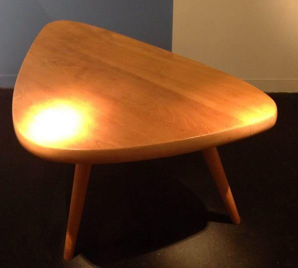 Perriand table at Laffanour.