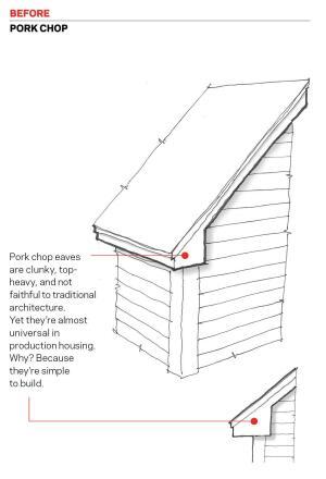 Alternatives To The Pork Chop Eave Return Builder