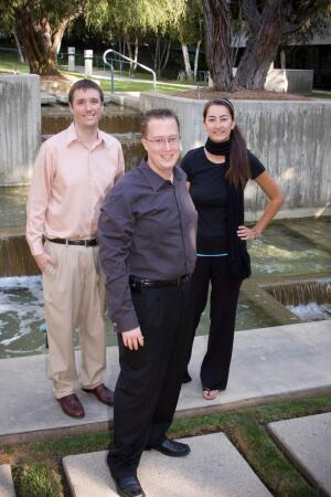 The E&S Ring Managment electronic payments adoption team (l to r) Kevin Hott, manager of information technology; Ryan Schnobrich, controller; LyLy Ruiz, manager of business information systems.