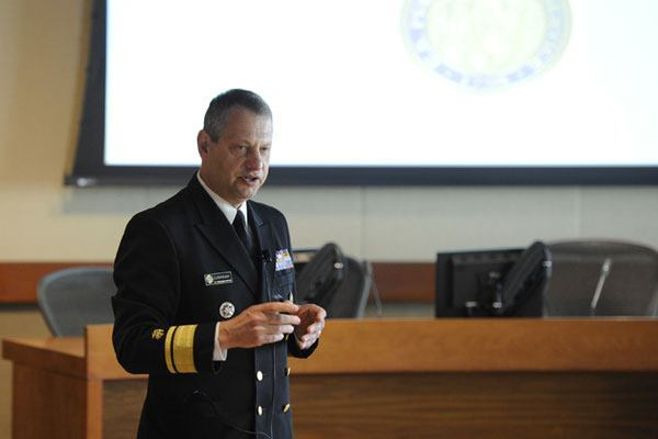 Acting U.S. Surgeon General Rear Admiral Boris Lushniak told attendees of the AIA's Design + Health summit that architects are also public health workers.