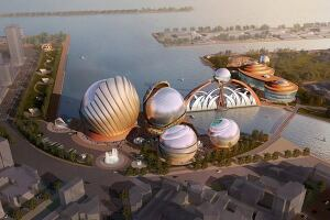 Kaohsiung Maritime Cultural & Popular Music Center Design Entry in Kaohsiung Taiwan, Province of China by ArchiteG, Inc.