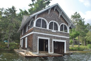 Floating a Boathouse