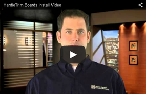 HardieTrim® Boards Introductory Installation Video