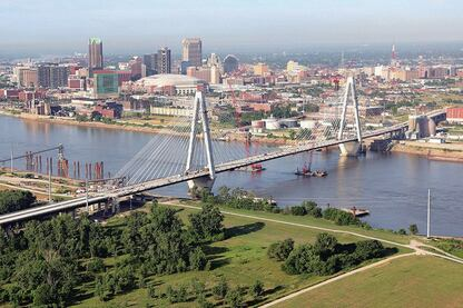 Building a Landmark – Stan Musial Veterans Memorial Bridge, St. Louis
