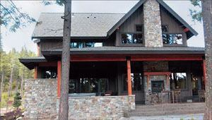 Pacific NW Masonry and Design's Suncadia Showcase House won an Excellence award in the over $10,000 category.