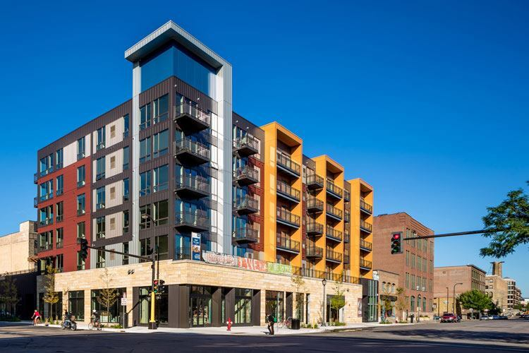 Bike centric apartments open in minneapolis multifamily for Apartment design and development ltd