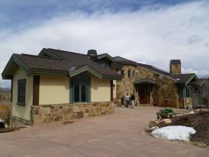 This home in Park City, Utah, was certified Silver in the 2008 version of the National Green Building Standard.
