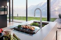 Franke Stainless Steel Faucet Series Helps Save Water