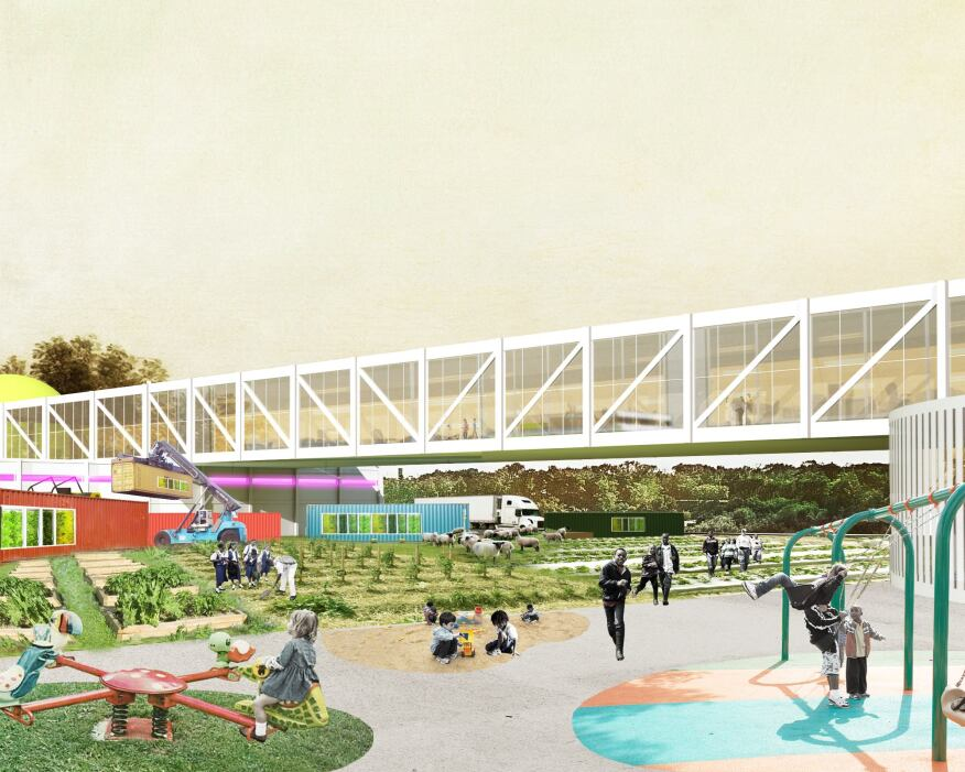 Oma Designs Master Plan For Kentucky Food Market