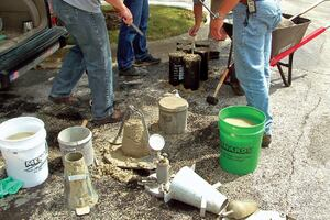 Measuring Water in Concrete