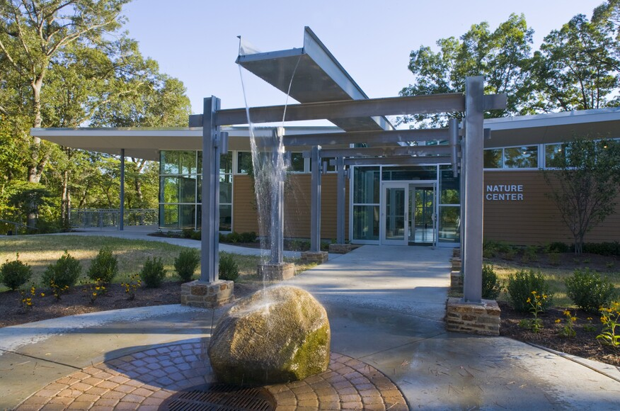 Killens Pond Nature Center Architect Magazine Gwwo
