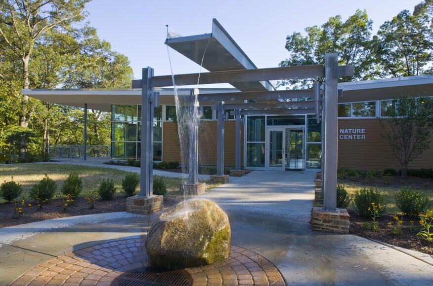 Killens Pond Nature Center Architect Magazine Gwwo Inc Architects Felton De Usa