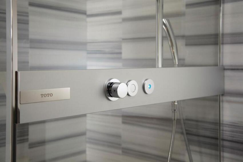 High Style, High Tech: Toto Neorest Shower Booth