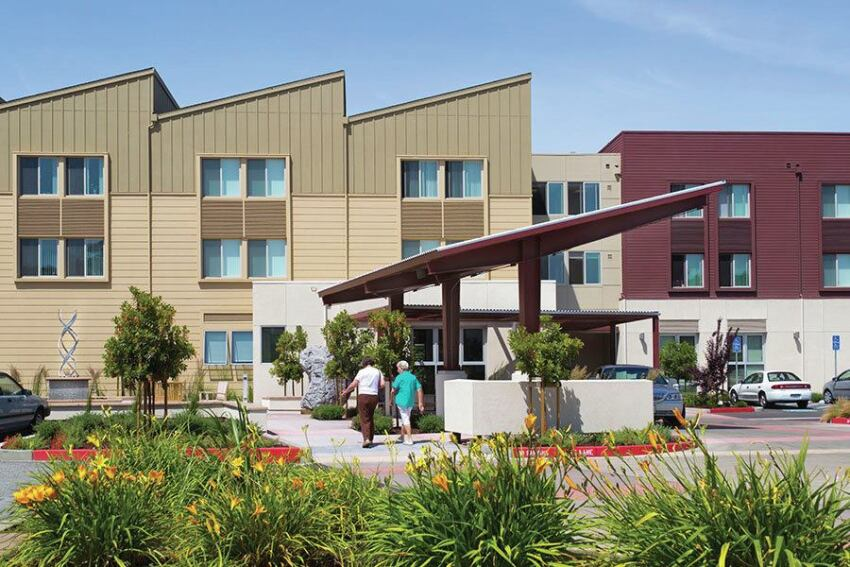 Housing and Services Come Together on a Seniors Campus