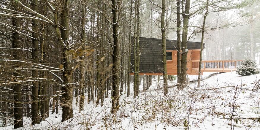Whitetail Woods Regional Park Camper Cabins, Farmington, Minn., by HGA