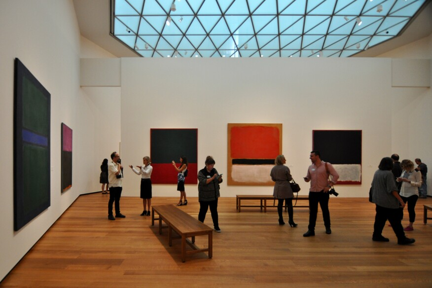 Mark Rothko: The Classic Paintings, Tower 1 of the National Gallery of Art, East Building.