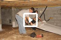 Sealing a South Carolina Crawlspace