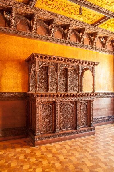 Teak Room, designed by Lockwood de Forest.