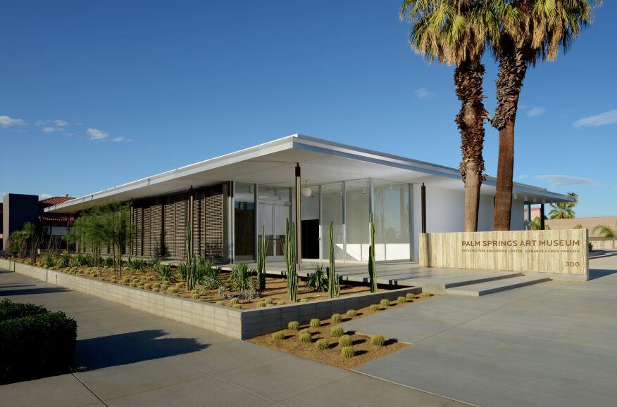 Architect And Design palm springs art museum expands to include architecture and design