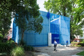 2016 Venice Biennale: Dutch Pavilion, BLUE: Architecture of UN Peacekeeping Missions