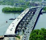 Bottleneck-battling bridge opens
