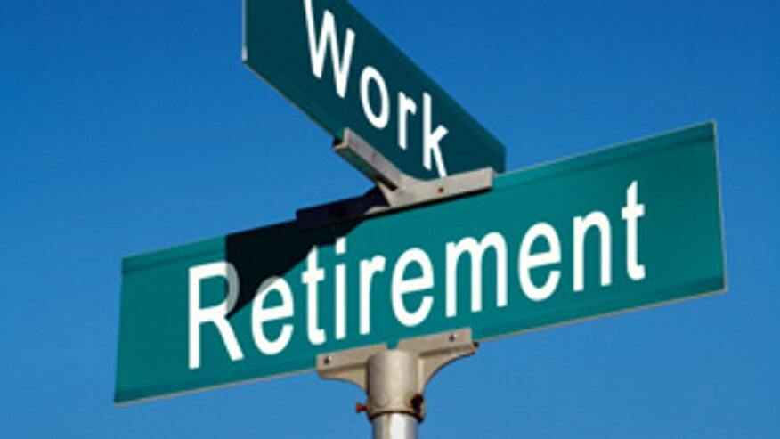junction of work and retirement
