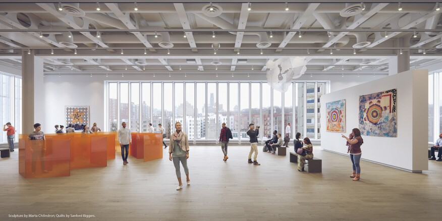 Lenfest Center for the Arts, Columbia University Manhattanville Campus. Designed by Renzo Piano Building Workshop, with Davis Brody Bond (executive architect).