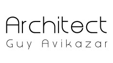 Guy Avikazar - Architect Logo