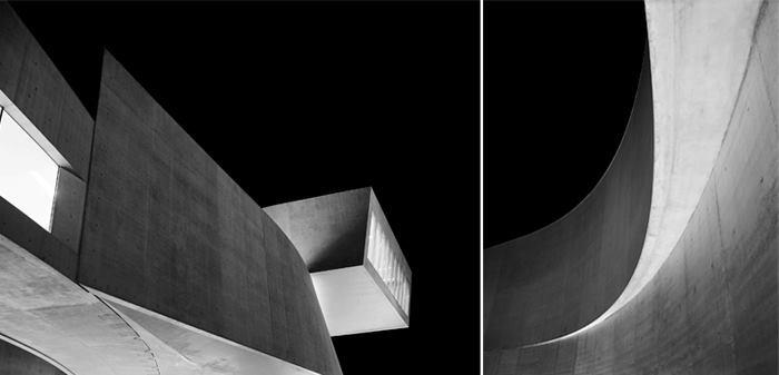 MAXXI Diptychon, architecture by Zaha Hadid.