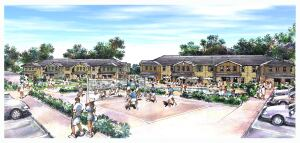 SCHOOL DAYS: Place Properties is building Hills Place near the University of Arkansas.