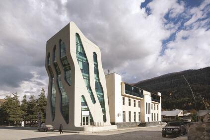 Police Station, Mestia