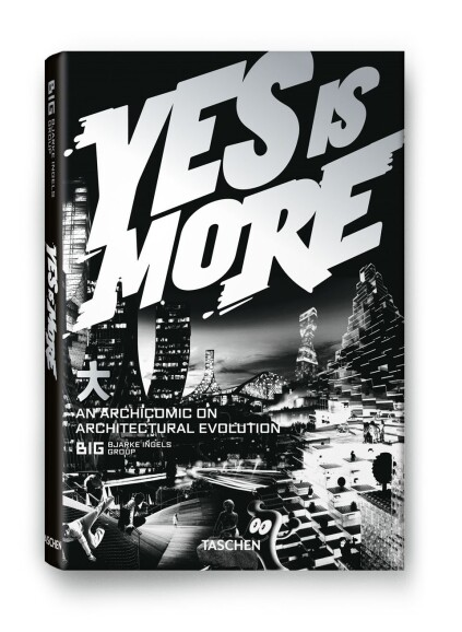 The cover of Yes Is More. An Archicomic on Architectural Evolution (2009).