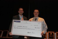 Joe Pelica Awarded First Besser Company Pipe Industry Scholarship