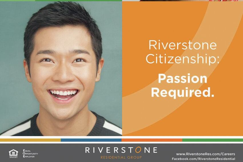 Marketing & Advertising, Grand: Riverstone Citizenship: Passion Required