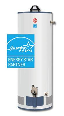 Conventional gas storage water heaters are now Energy Star rated.