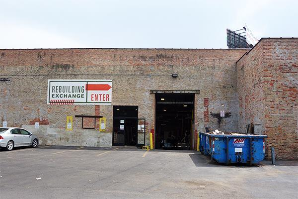 The Rebuilding Exchange has sold reclaimed materials and hand-crafted products from its 1740 W. Webster Ave. location in Chicago since 2012.