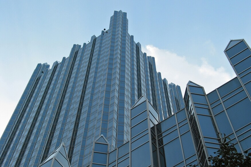 PPG's 1984 neo-gothic headquarters at PPG Place, in Pittsburgh, was designed by Philip Johnson and John Burgee to reflect the company's glass-making heritage.