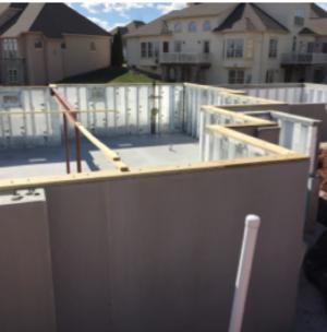 High-performance homes precast concrete foundation.
