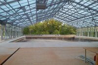 OpenAire Designs New Custom Retractable Roof Structures for Aquatics Facilities