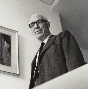 Ove Arup, photographed by Godfrey Argent, April 1969