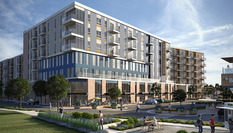 Crescent Communities Looks To 39 Redefine Urban Living 39 In Uptown Charlotte Multifamily