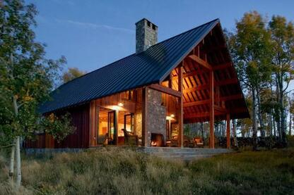 Our Custom Home of the Year employs familiar Western forms to create something that feels completely new yet perfectly at home in its Rocky Mountain setting.